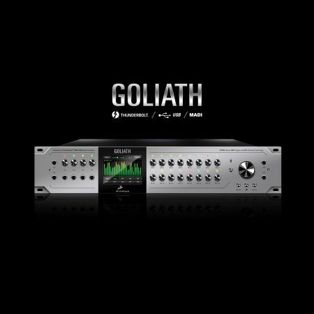 Goliath Thunderbolt™, USB and MADI Audio Interface with 16 Mic Pres