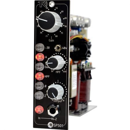 SP501 500 series Class A Preamp