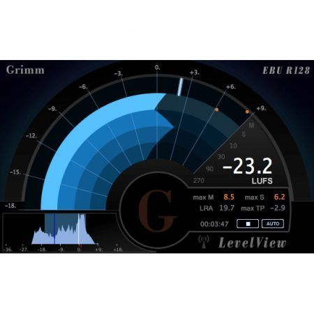LevelView – EBU R128 and ATSC A/85 compliant Loudness Software