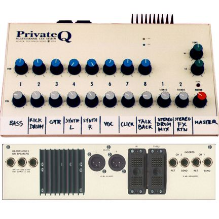 Private Q – 12ch. Mix Station